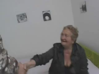 Sexy talianske stará mama