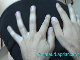 Gorgeous blonde lapdancing Video