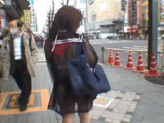 japonski, voyeur, amateur girl