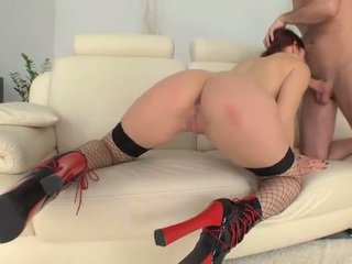 Mira Sunset pussy fucked and creampied