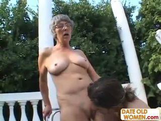 older, grandma, granny, freak