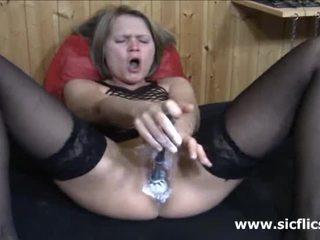 insertion, solo, lesbian