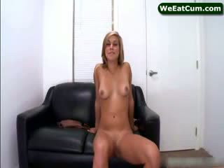 Kennedy leigh playing with puss
