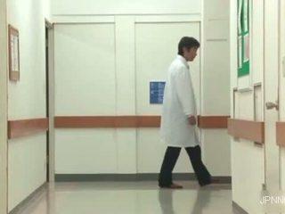 Horny And So Sexy Asian Nurse Part1