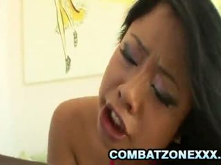 Big Ass Babe Kya Tropic Deep Throats A Black Dick