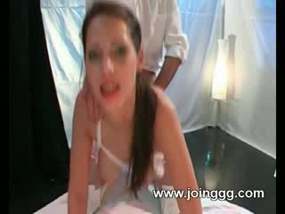 Sexy nurse got sperm