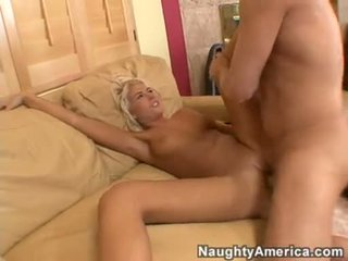 Sexy Hawt Danica Blue Widens Her Tight Slits Wide Enough To Get Drilled Deep