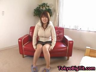 Asian Milf Has Large Beautiful