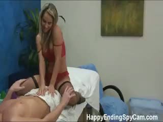 Our Hidden Spy Cameras Caught Aleska The Massage Therapist
