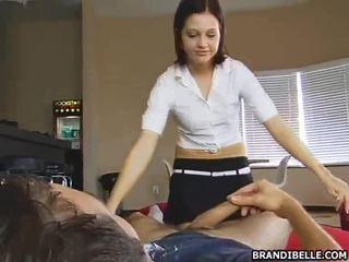 groot tiener sex video-, cfnm, zien geklede vrouw naakte man