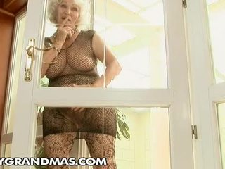 Norma Was Excited. She Was Waiting For Her New Friend...