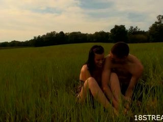 Moronic Pleasuring At The Meadow