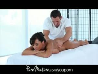 Puremature kontoris massaaž lisa ann kontoris massaaž bang