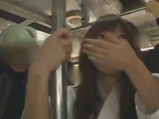 Busty japanese girl Hitomi Tanaka banged in public