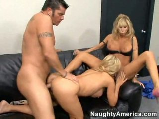 Amber Lynn, Her Mate Morgan Ray And Pocket Rocket