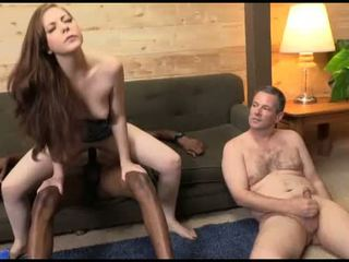 Scarlett Fay fucks in front of her hubby