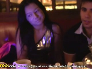 Sexy brunette gets fucked in mcdonald's