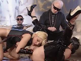 vers groepsseks neuken, controleren hoorndrager scène, controleren anaal video-