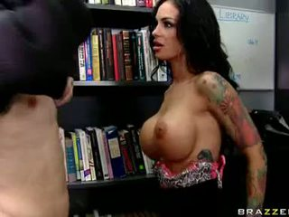 Concupiscent Chick Angelina Valentine Gets Mouthfucked Hard And Good Until She Chokes