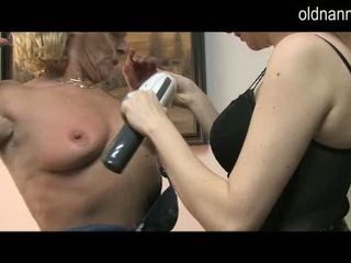 Old Donna In Corset BJing The Chuf Of A Nasty Pussy