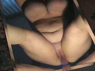 bbw, graisse, femme