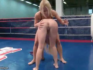 lesbian, lesbian fight most, quality muffdiving nice