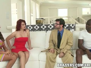 Group sex with wife swapping