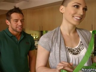 Bald Woman Lily LaBeau Has A Welcome Shag From Her Oustanding Joystick Neighbor