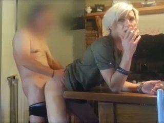 real smoking, crossdresser, homemade porn