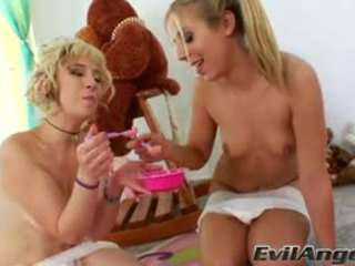 Proxy Paige Spits Milk From Her A Hole For Chastity Lynne