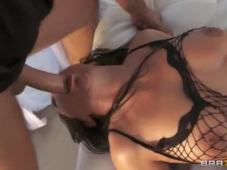 Vanessa blake ass pounded in fishnets
