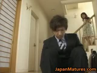Hitomi kurosaki eldre japansk kvinne part1