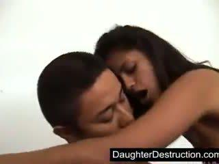 Latina daughter fucked hard