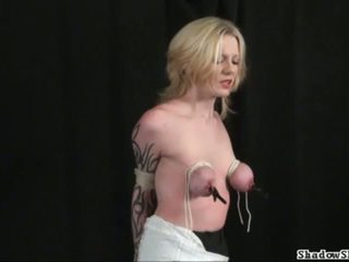 Tit tortured blondes extreme bdsm and hardcore sub