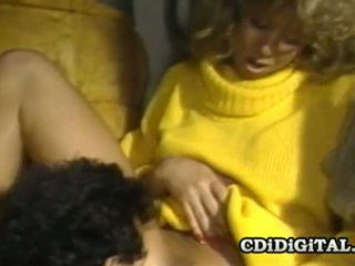 Blondie bee 80s porno zvezda banged težko in globoko