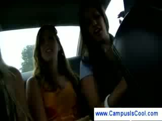 alle college film, nominale college meisje, plezier student kanaal