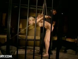 Dominated Girls: Poor blonde girl gets abused