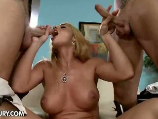 Hardcore double anal fuck for cathy