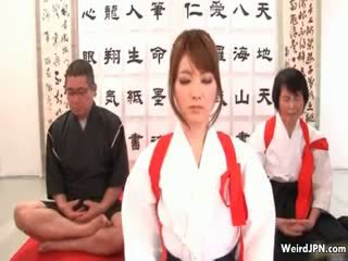 Graziosa giapponese karate pupa maltrattata part6