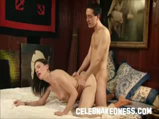 Celebrity hardcore sex in mainstream movie Naked doggy