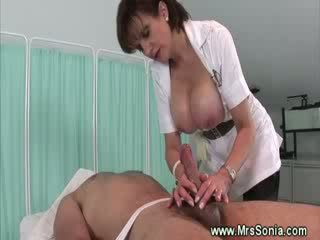 domina nurse takes care of dong