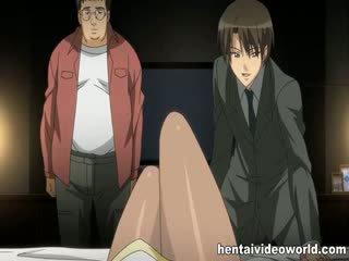 Schön vollbusig anime mieze banged