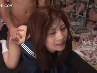 alle japanse, heet cumshot mov, een bukkake