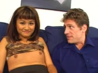 Fascinating Asian Legal Age Teenagerager Got Her Mouth Gaped Very Well