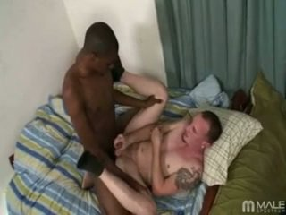 Greasing Up Darksome Pole For A Fucking