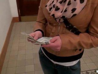 Eurobabe Tonya asshole ripped for money
