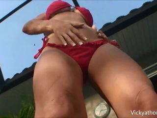 Superstar vicky vette sunset bj!