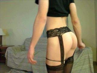 vers webcam neuken, heet crossdresser video-, lingerie thumbnail
