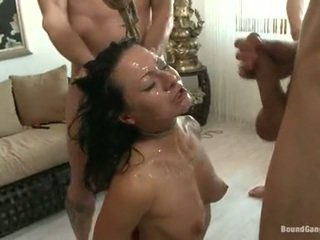 Sandra romain coquette mieć cumming drops z a pikantny chaps