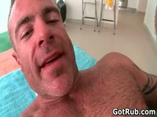 Massage Pro Receives His Fine Booty Fucked By Muscled Dude 5 By Gotrub